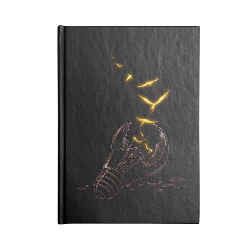 Freedom Light Bird Accessories Notebook by Tobe Fonseca's Artist Shop