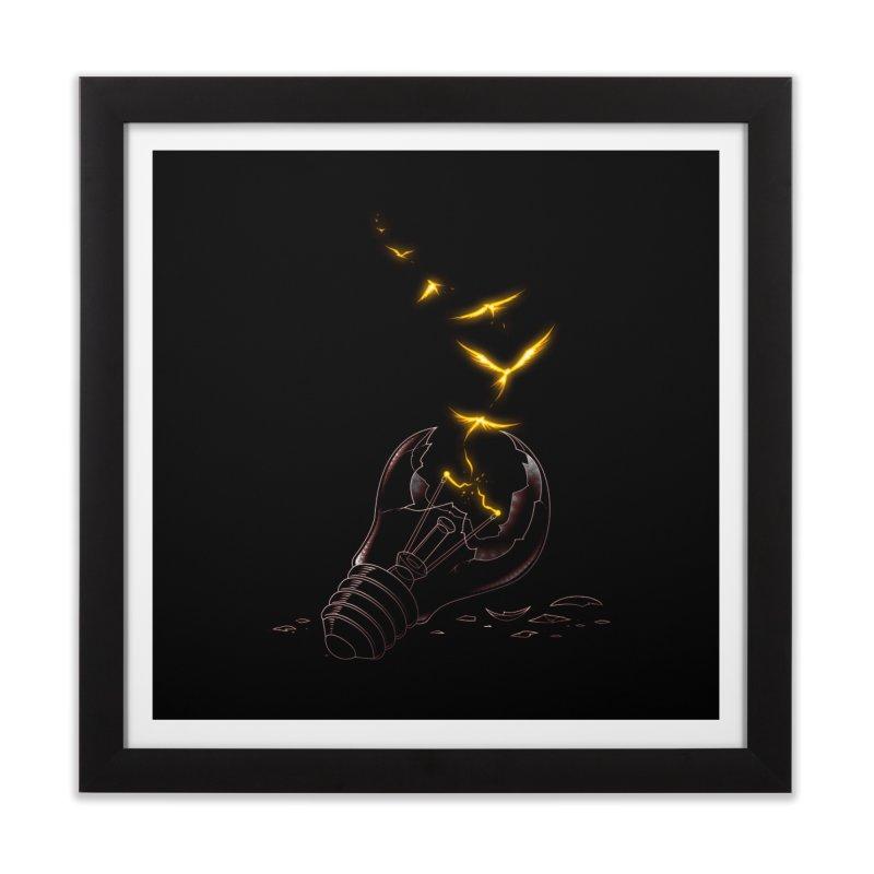 Freedom Light Bird Home Framed Fine Art Print by Tobe Fonseca's Artist Shop