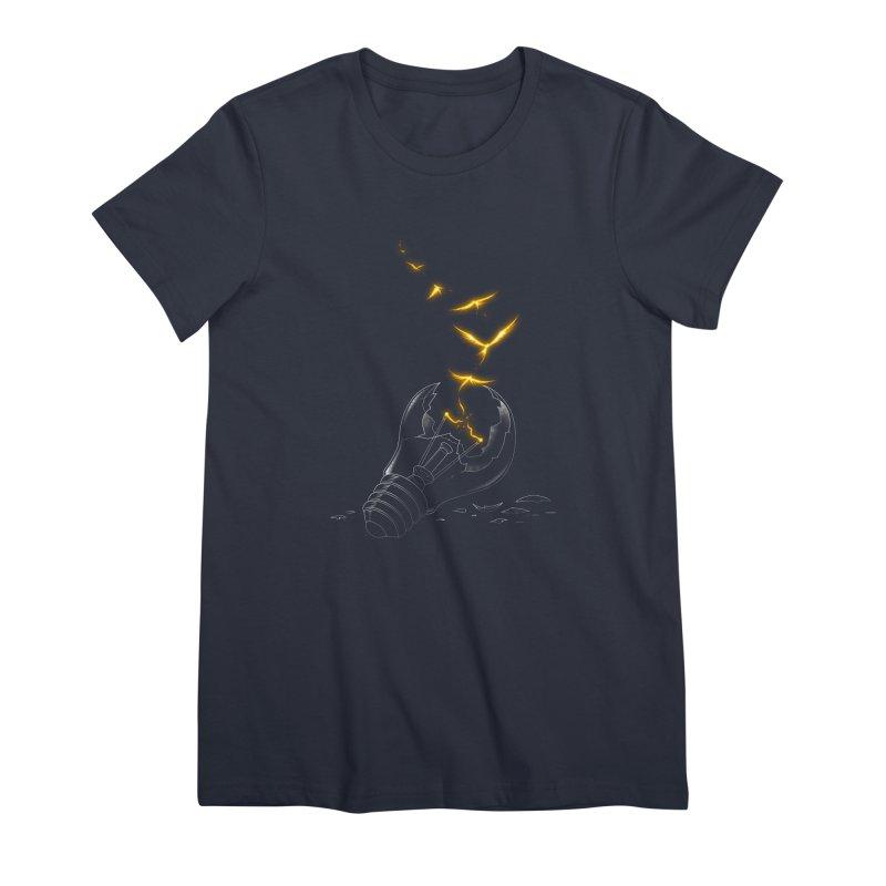 Freedom Light Bird Women's T-Shirt by Tobe Fonseca's Artist Shop