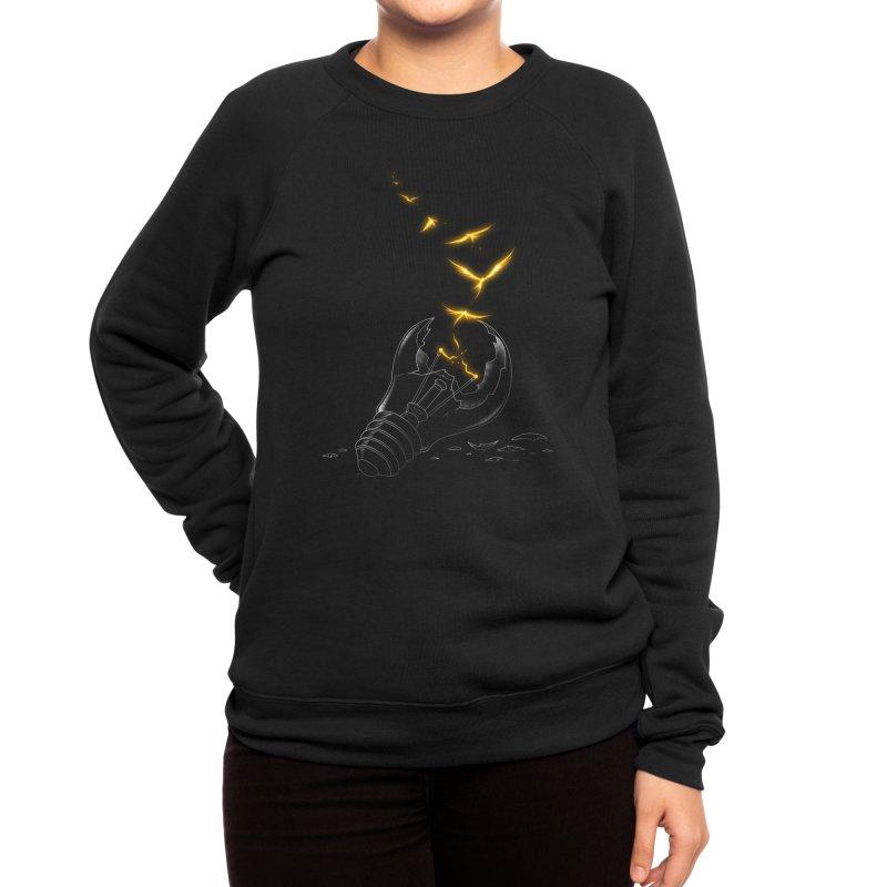 Freedom Light Bird Women's Sweatshirt by Tobe Fonseca's Artist Shop