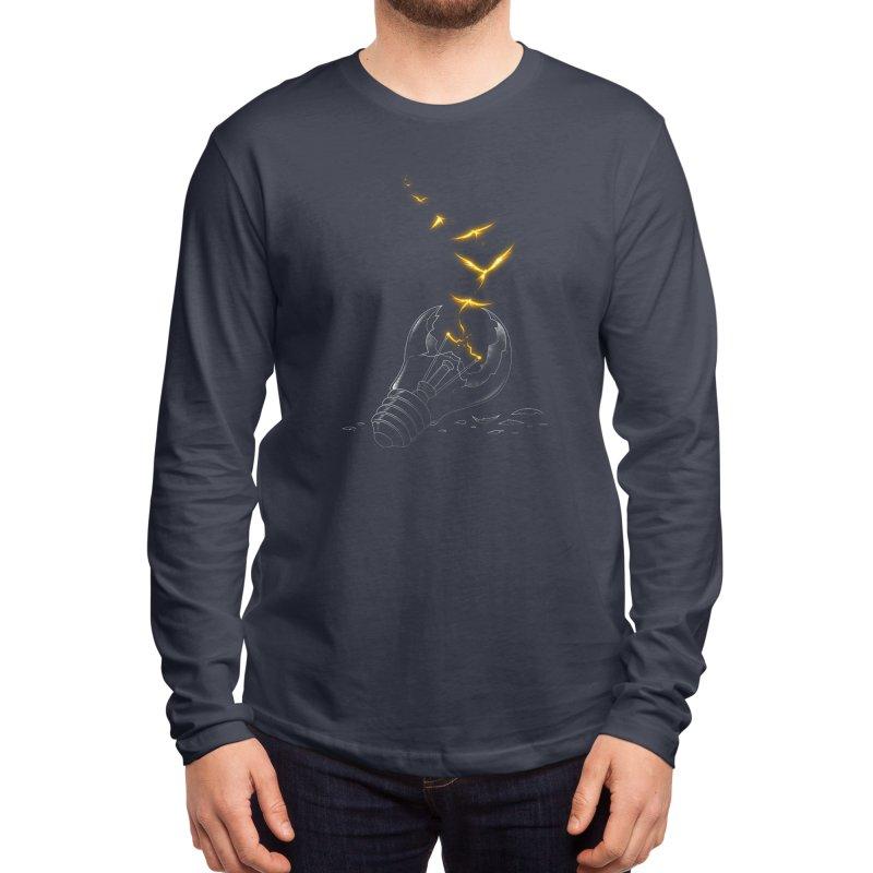 Freedom Light Bird Men's Longsleeve T-Shirt by Tobe Fonseca's Artist Shop