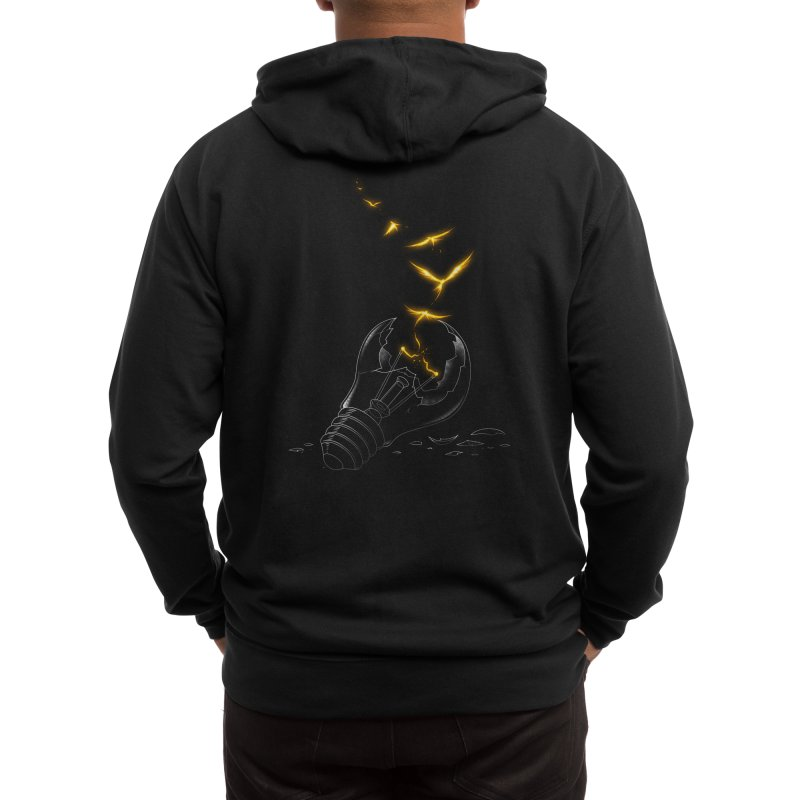 Freedom Light Bird Men's Zip-Up Hoody by Tobe Fonseca's Artist Shop