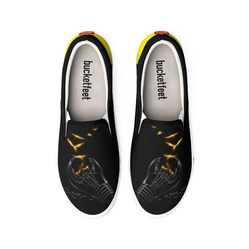 Freedom Light Bird Men's Shoes by Tobe Fonseca's Artist Shop