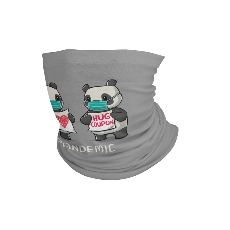 Pandemic - social distancing but always close to my heart Accessories Neck Gaiter by Tobe Fonseca's Artist Shop