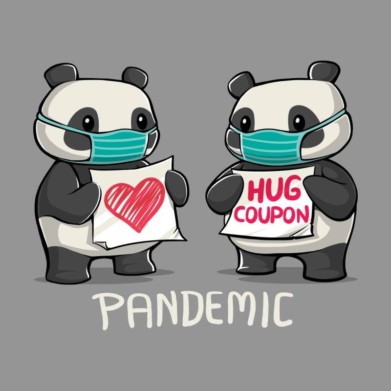 Pandemic - social distancing but always close to my heart Kids Pullover Hoody by Tobe Fonseca's Artist Shop