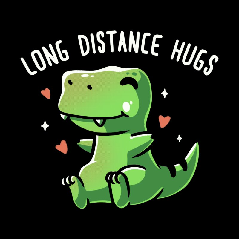 Long Distance Hugs Kids Baby T-Shirt by Tobe Fonseca's Artist Shop