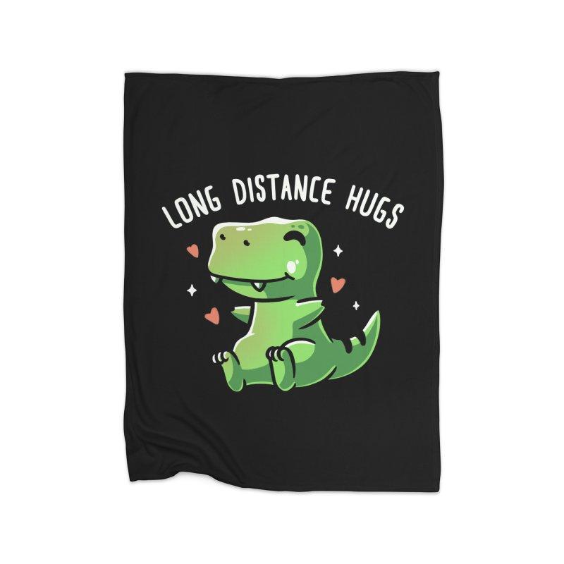 Long Distance Hugs Home Blanket by Tobe Fonseca's Artist Shop