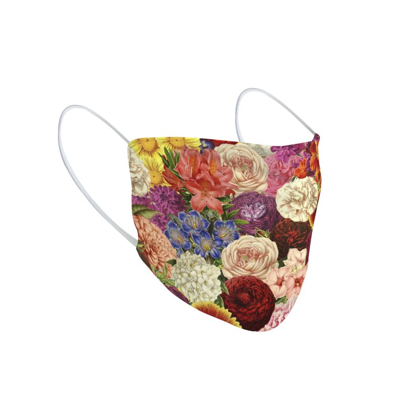 Spring Explosion Accessories Face Mask by Tobe Fonseca's Artist Shop