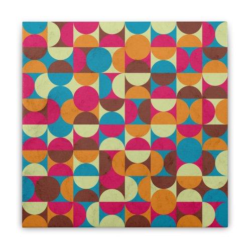 image for Energy Deco Retro Pattern Bubblegum