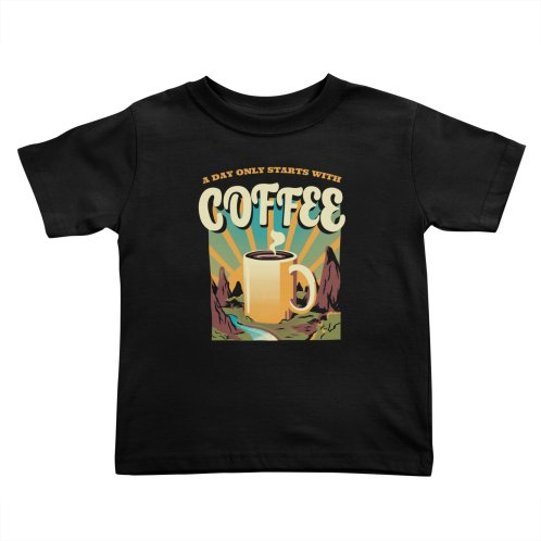 image for Good Morning Coffee Camping T-shirt