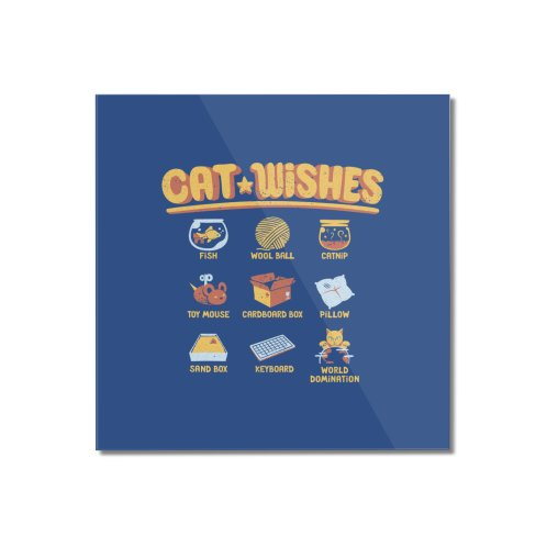 image for Cat Wishes Feline T-shirt
