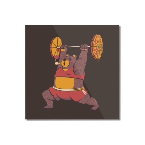 image for Squat Bear Gym I Love to Eat Pizza