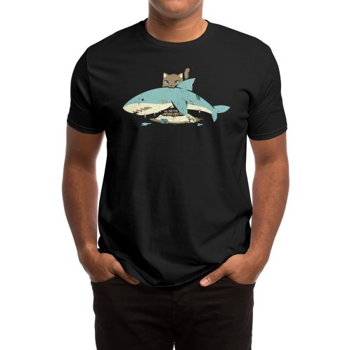 image for Cat Shark Funny Cat T-shirt