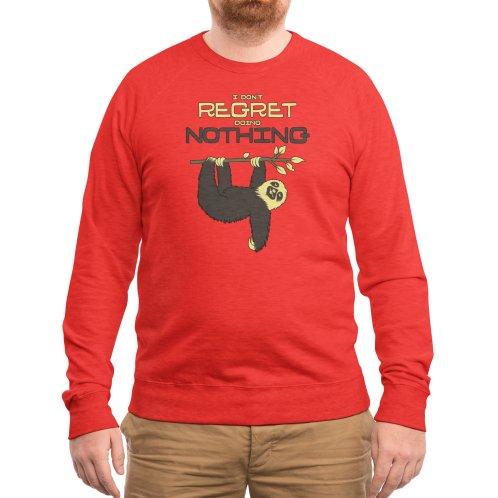 image for I Don't Regret Doing Nothing Lazy Sloth T-shirt