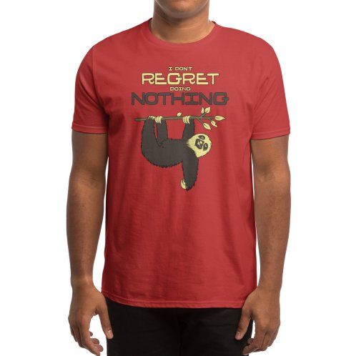 image for I Don't Regret Doing Nothing Lazy Sloth T-shirt