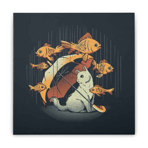 image for A Day In A Cat's Life Golden Fish In The Rain
