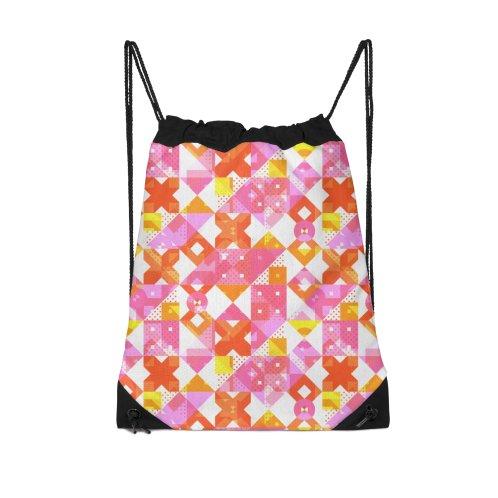 image for X Square Bubblegum Geometric Pattern