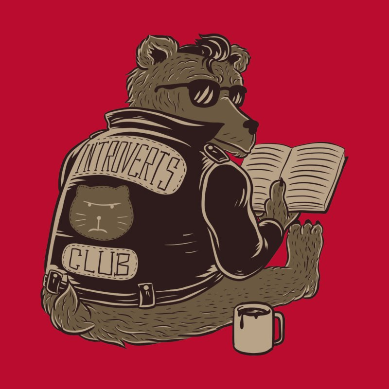 Introverts Club   by Tobe Fonseca's Artist Shop
