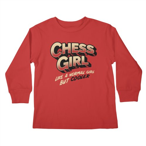 image for Chess Girl. Like a normal girl but cooler