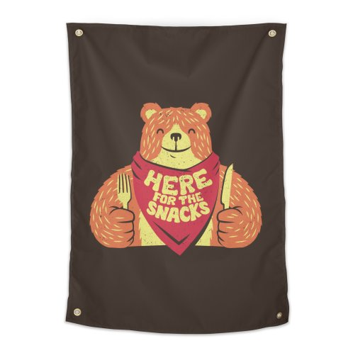 image for I'm Here For The Snacks Bear