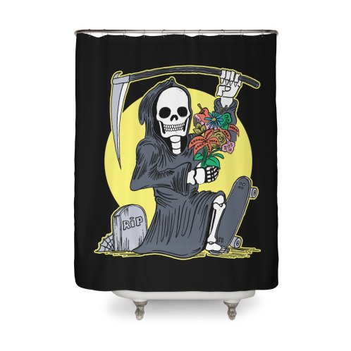 image for Death Holding a Flower Bouquet