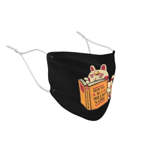 image for Maneki-Neko How to be a Millionaire Cat Black Design