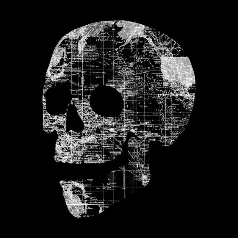 Skull Wanderlust None  by Tobe Fonseca's Artist Shop
