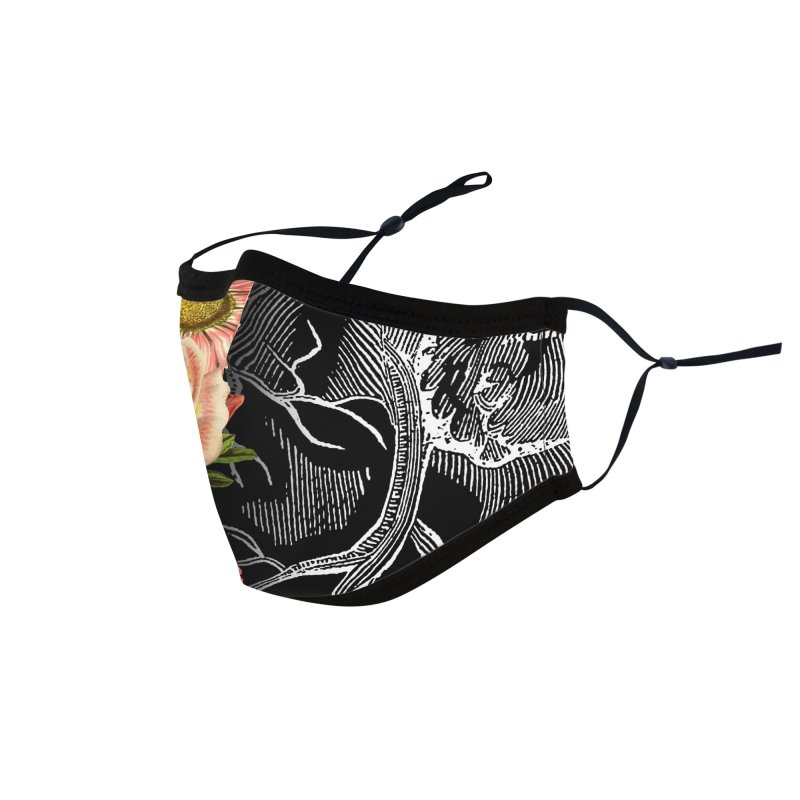 Flower Heart Spring Accessories Face Mask by Tobe Fonseca's Artist Shop