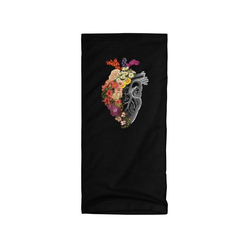 Flower Heart Spring Accessories Neck Gaiter by Tobe Fonseca's Artist Shop