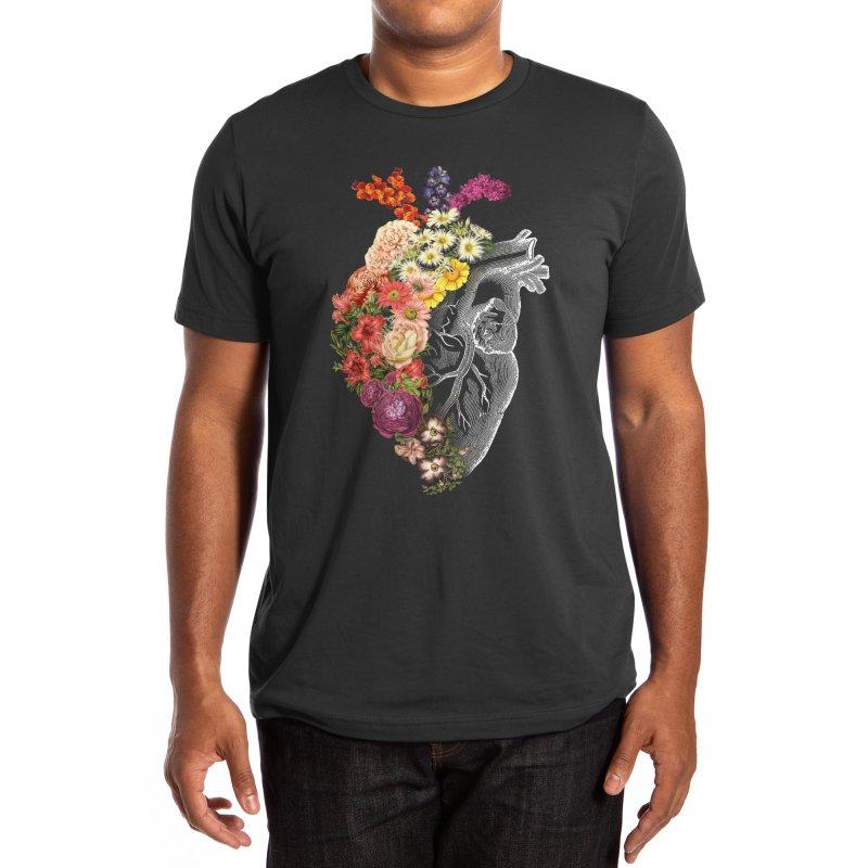 Flower Heart Spring Men's T-Shirt by Tobe Fonseca's Artist Shop