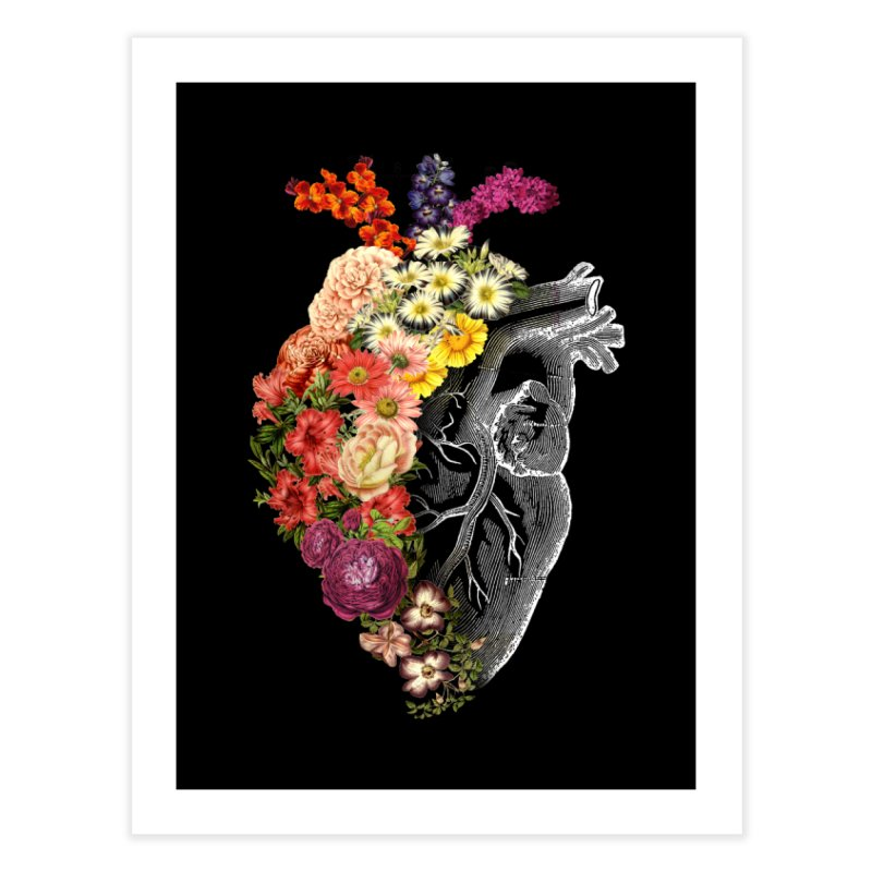 Flower Heart Spring Home Fine Art Print by Tobe Fonseca's Artist Shop