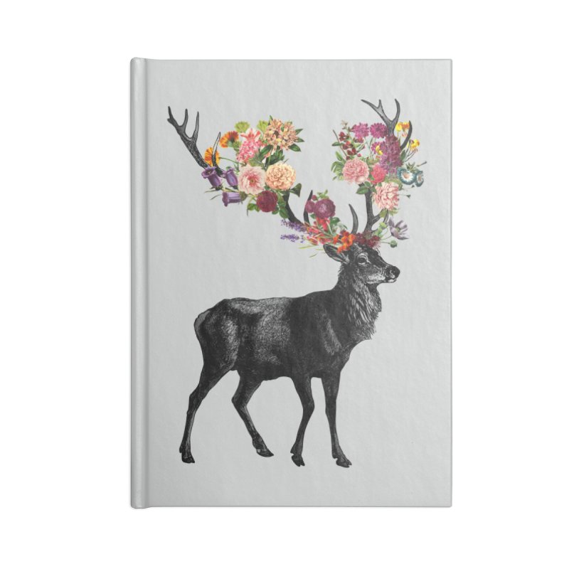 Spring Itself Deer Floral   by Tobe Fonseca's Artist Shop