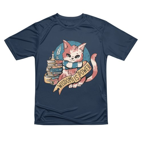 image for Wisdom is Power Books and Cat