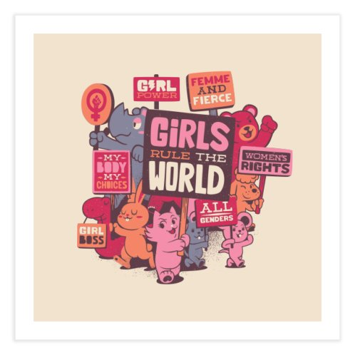 image for Girl Power Feminist Classic