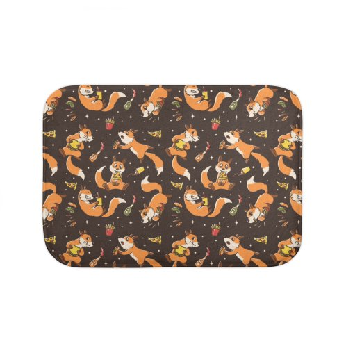 image for Pattern Fast Food Foxes