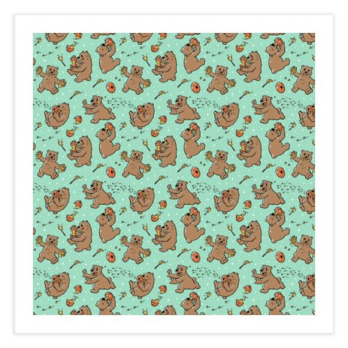 image for Pattern Honey Bears