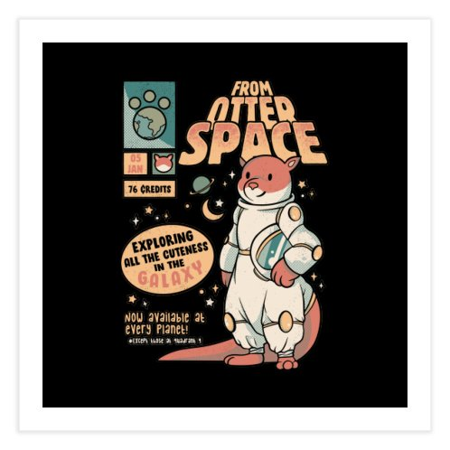 image for Otter Space Astronaut Other Gravity Galaxy Comics