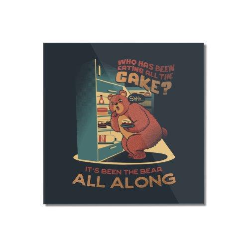 image for The fridge is a lie raid the fridge bear eating cake