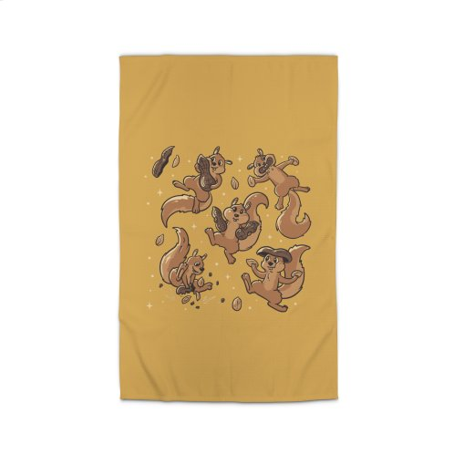 image for Peanut Cute Squirrels Yellow