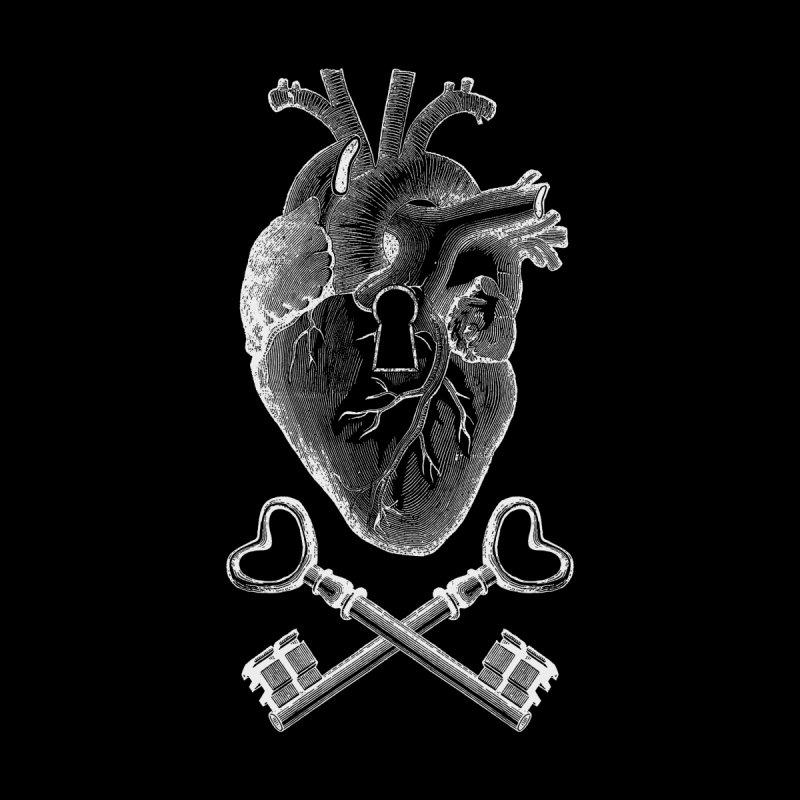 Keyhole Pirate Heart Women's T-Shirt by Tobe Fonseca's Artist Shop