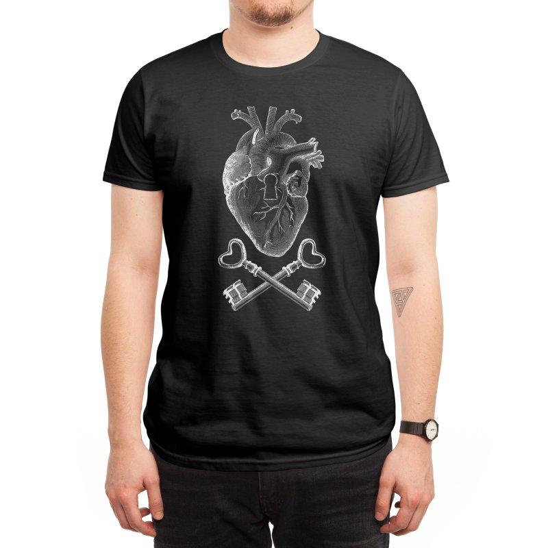 Keyhole Pirate Heart by Tobe Fonseca's Artist Shop