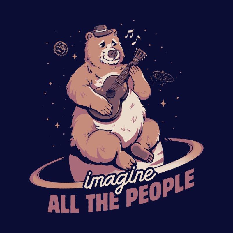 Imagine All the People Men's Longsleeve T-Shirt by Tobe Fonseca's Artist Shop