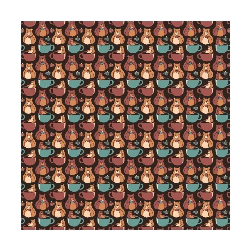 Bear Coffee Pattern by Tobe Fonseca's Artist Shop
