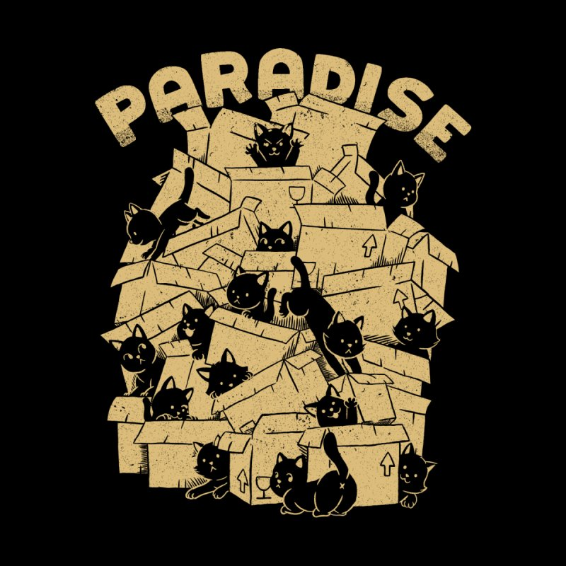 Cat Box Paradise Women's T-Shirt by Tobe Fonseca's Artist Shop