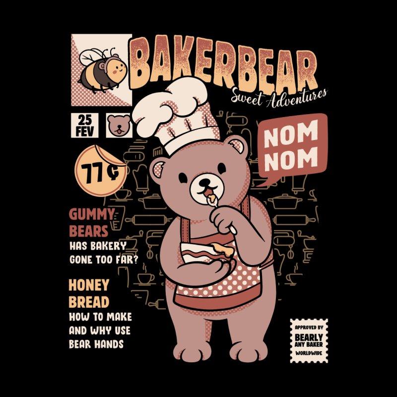 Bakery Bear Cooking Accessories Skateboard by Tobe Fonseca's Artist Shop