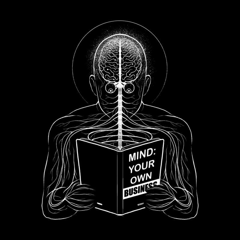 Mind: Your Own Business Kids T-Shirt by Tobe Fonseca's Artist Shop