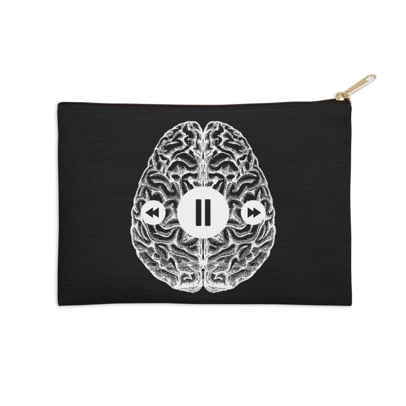 Brain Stop Psychology ADHD PTSD Accessories Zip Pouch by Tobe Fonseca's Artist Shop