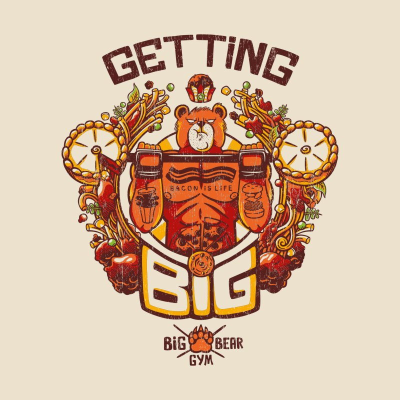 Getting Big Bear Yellow None  by Tobe Fonseca's Artist Shop