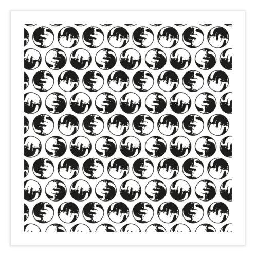 image for Yin Yang Cat Tao Pattern