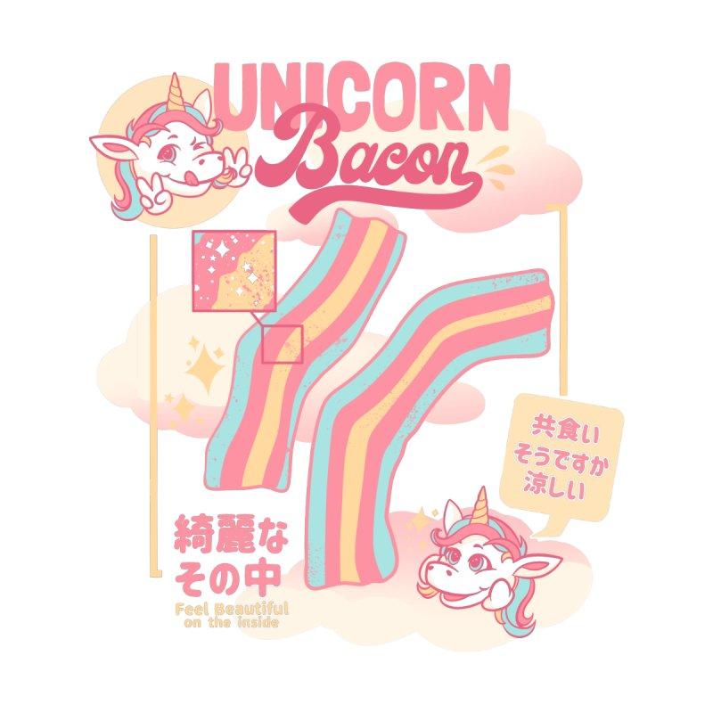 Unicorn Bacon Men's Cut & Sew by Tobe Fonseca's Artist Shop